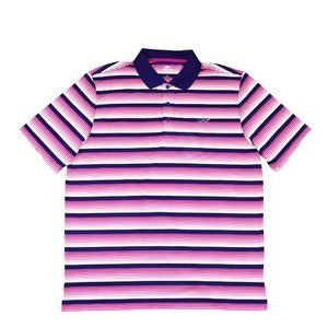 Greg Norman Roadmap Striped Golf Polo Shirt